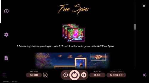 Free Spin Feature Rules by Hotslot
