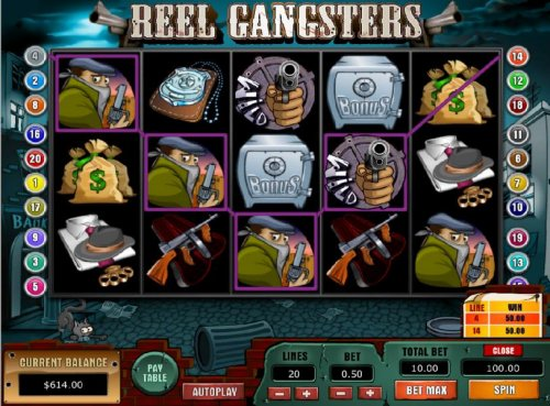 Reel Gangsters by Hotslot