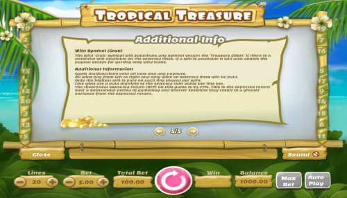 Images of Tropical Treasure