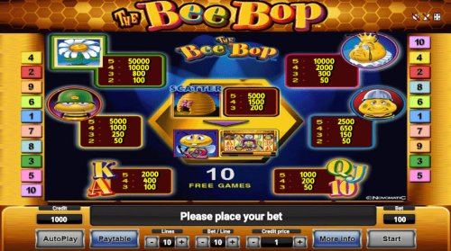The Bee Bop by Hotslot