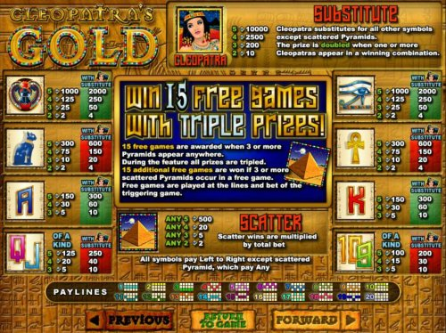 Hotslot - Slot game symbols paytable and Payline Diagrams 1-20.