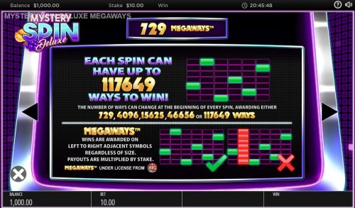 Up to 117649 ways to win by Hotslot
