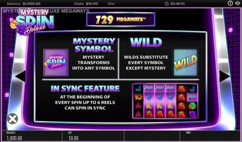 Mystery Spin Deluxe screenshot