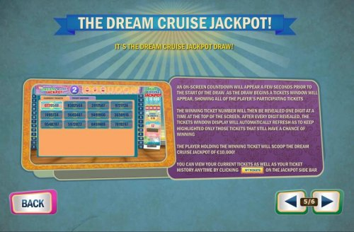 The Dream Cruise Jackpot - game rules by Hotslot