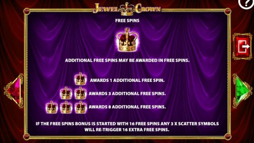 Additional free spins may be awarded in free spins. - Hotslot