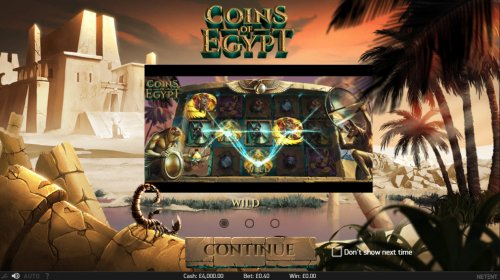 Hotslot image of Coins of Egypt