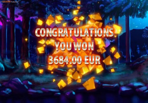 Free Spins feature pays out a total of 3,684.00 for a mega win. - Hotslot