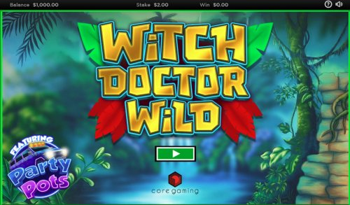 Witch Doctor Wild by Hotslot