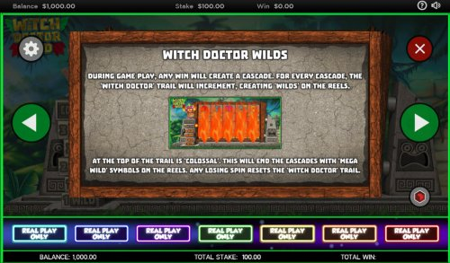 Hotslot image of Witch Doctor Wild
