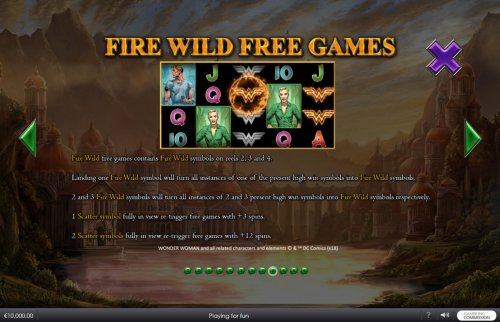 Fire Wild Free Spins by Hotslot