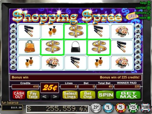 Images of Shopping Spree