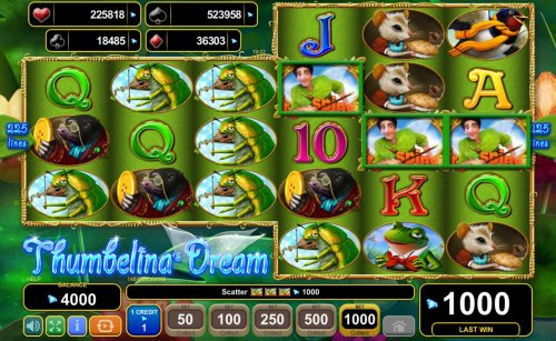 Hotslot - Landing three scatter symbols anywhere on reels 4, 5 and 6 triggers a cash prize and free games feature.