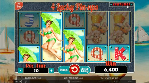 Images of 4 Lucky Pin-Ups