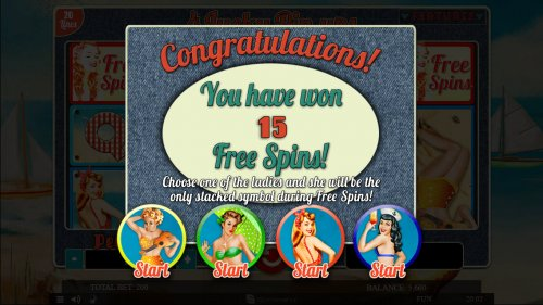 4 Lucky Pin-Ups by Hotslot