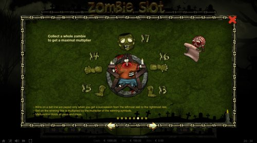 Collect a whole zombie to get maximal multiplier - Hotslot