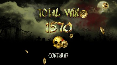 Total free spins payout 1570 coins by Hotslot