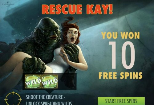 Creature from the Black Lagoon by Hotslot