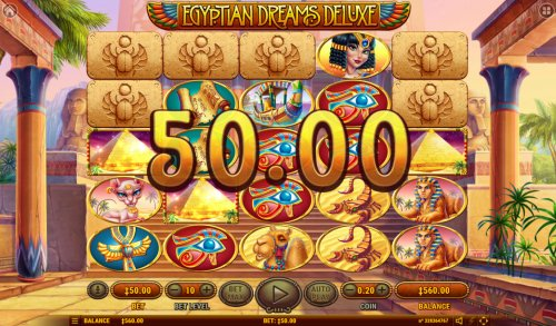 Egyptian Dreams Deluxe by Hotslot