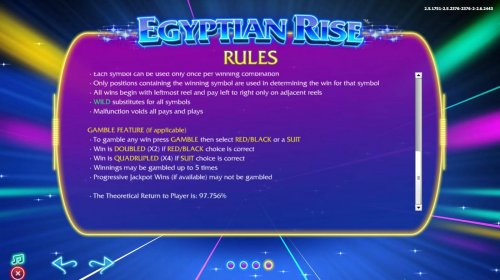 Images of Egyptian Rise