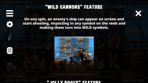 Wild Cannons Feature - Hotslot