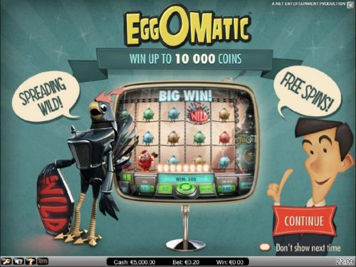 Hotslot - win up to 10,000 coins, speading wilds and free spins