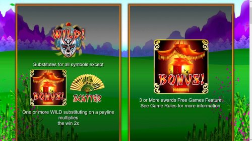 Bonus, Scatter and Wild Symbol Rules by Hotslot