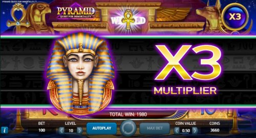 Hotslot image of Pyramid Quest for Immortality