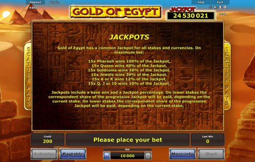 Images of Gold of Egypt