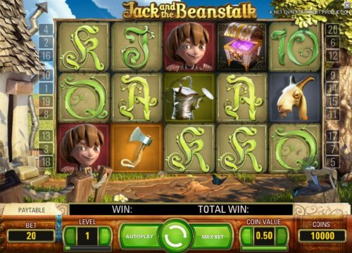 main game board five reels, twenty paylines and a chance to win up to 600000 coins by Hotslot