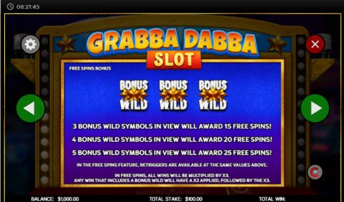 Images of Grabba Dabba Slot