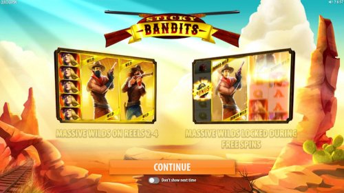 Game features include: Massive Wilds on Reels 2-4 and Massive Wilds Locked During Free Spins by Hotslot