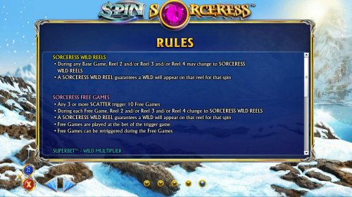 Sorceress Wild Reels and Sorceress Free Games Rules and How to Play. - Hotslot