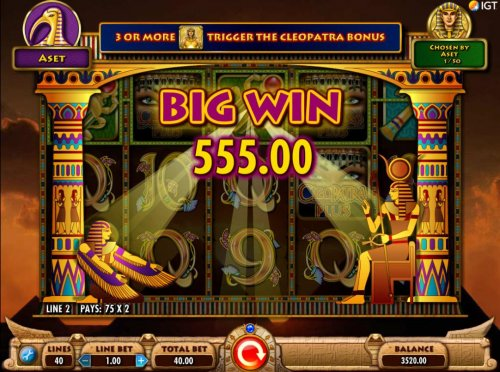 A 550.00 big win triggered by wild X2 multipliers - Hotslot