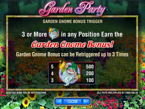 Hotslot image of Garden Party