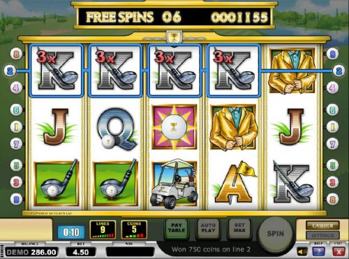 four of a kind with a 3x multiplier triggers a big win during the free spins feature by Hotslot