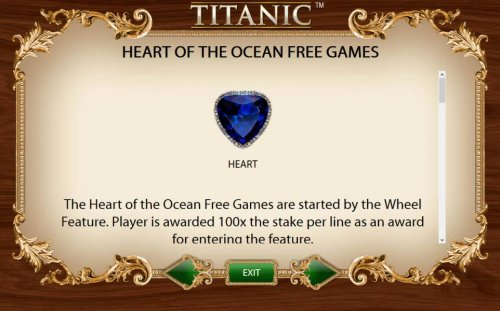 Hotslot - Heart of the Ocean Free Games Feature are started by the Wheel Feature.