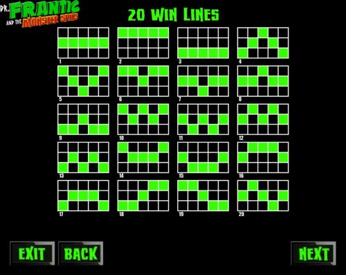 Win Lines 1-20 by Hotslot