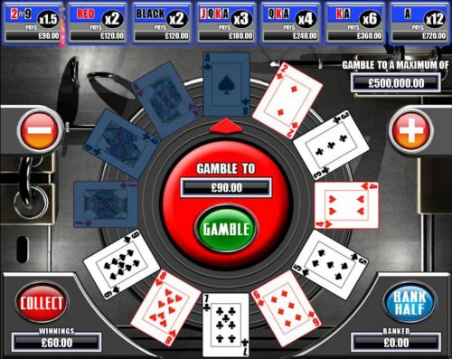 Gamble Feature Game Board by Hotslot