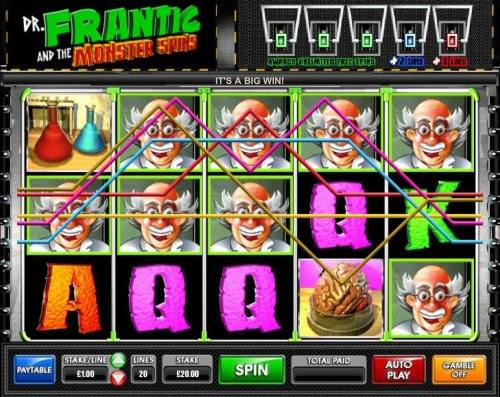 Images of Dr. Frantic and the Monster Spins