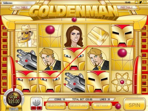 Images of Goldenman