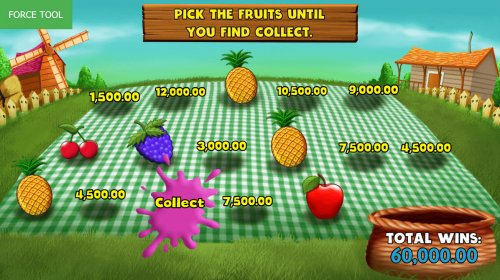 Pick fruit for a chance to win cash prizes - Hotslot