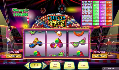 Circus Mania screenshot