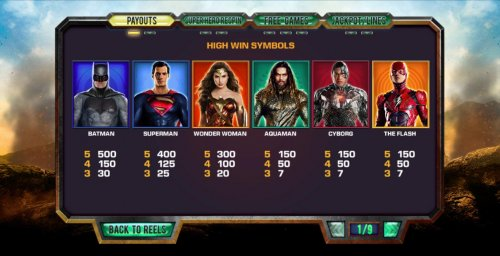 Hotslot image of Justice League