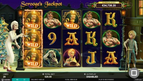Images of Scrooge's Jackpot