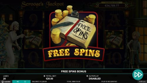 Hotslot - Free Spins feature activated