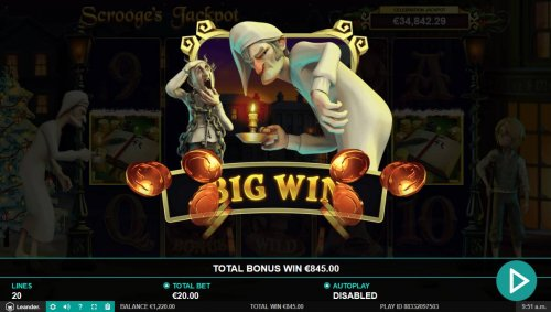 Total Free Games Payout 845 Coins by Hotslot