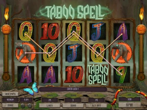 Multiple winning paylines triggers a big win! by Hotslot