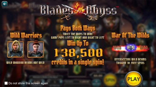 Hotslot image of Blades of the Abyss