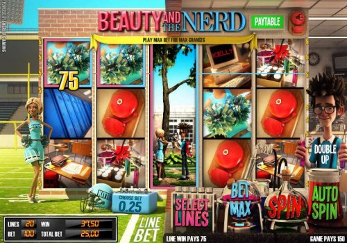 Images of Beauty and the Nerd