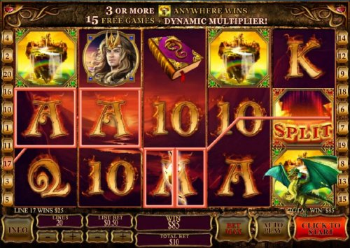 dragon split feature triggers a $85 jackpot by Hotslot